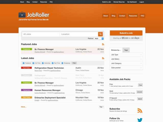 jobroller-job-board-theme