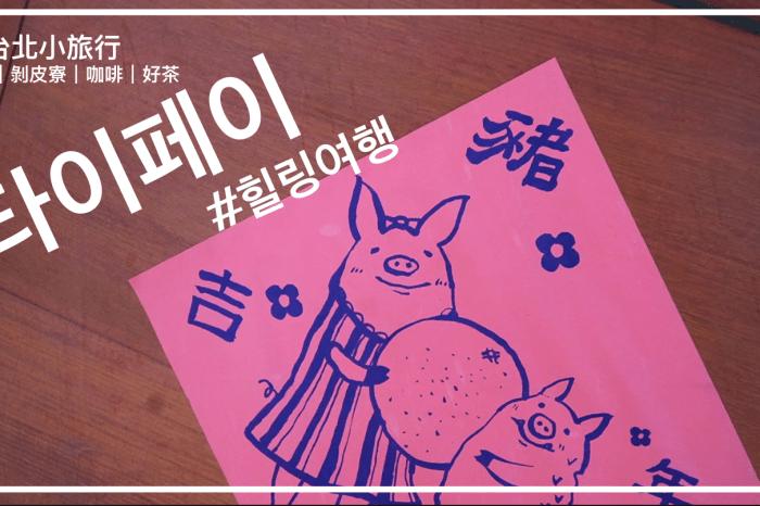 [影音] 타이페이 힐링여행 台北小旅行 萬華|剝皮寮|咖啡,好茶推薦  (1分鐘全韓文)