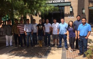 CSU Fullerton Visitors at Athena Engineering