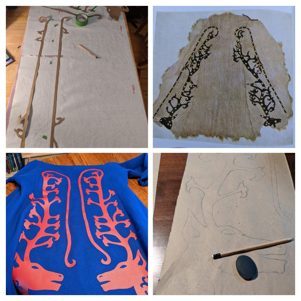 Designing a scythian coat