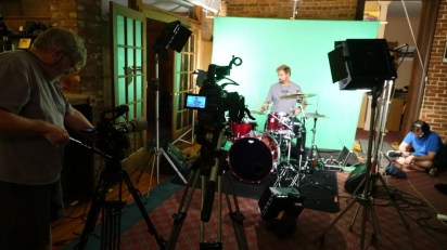 Athena Athena video Shoot