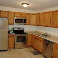 "Stainless steel appliances including microwave, dishwasher 15'4"" x 9'6"""