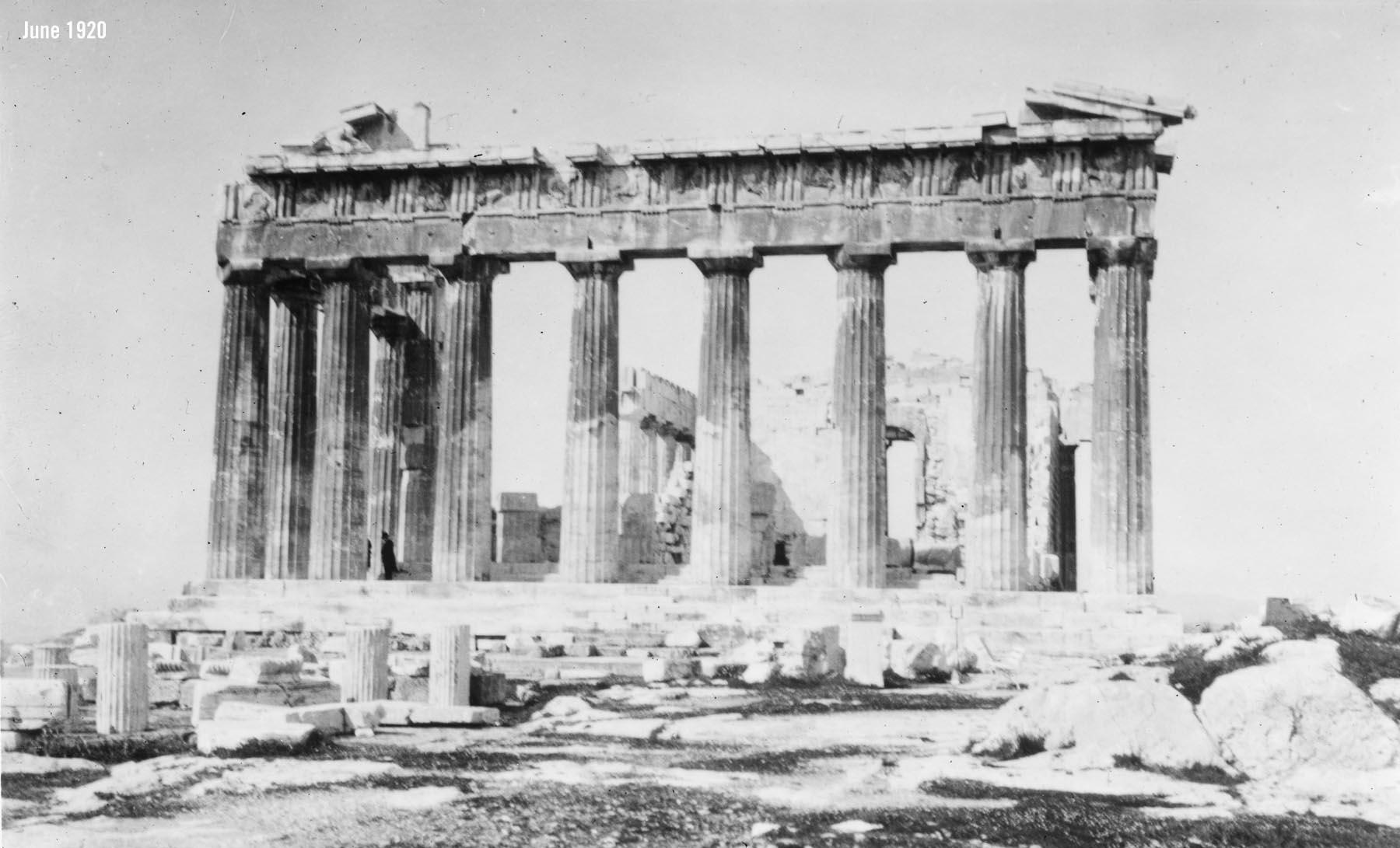 Parthenon Acropolis Athens June