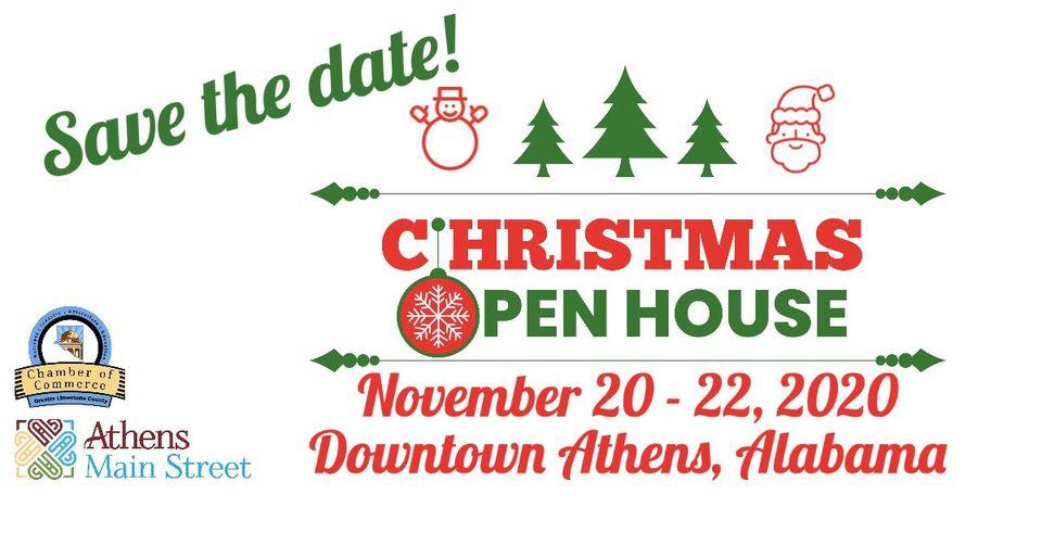 Athens Alabama Christmas Open House 2020 Christmas Open House