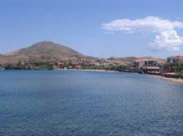 Myrina_beach,_Lemnos