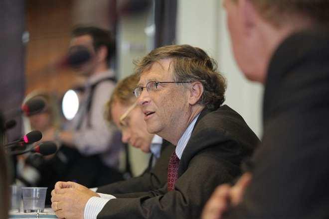 Bill Gates at World Health Assembly