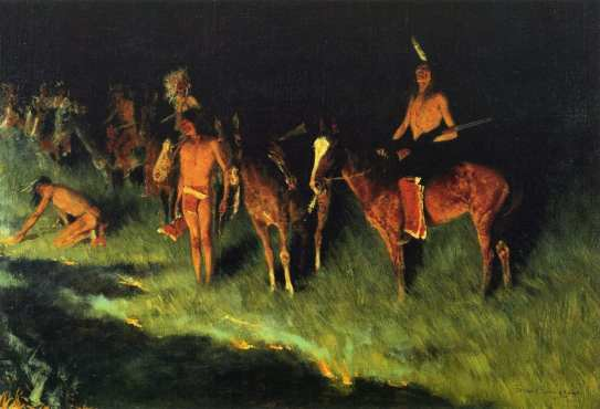 Frederic_Remington_The_Grass_Fire