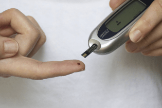People with diabetes must test their blood glucose levels throughout the day.