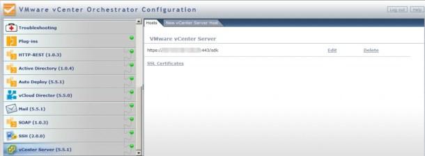 vCO vCenter Config