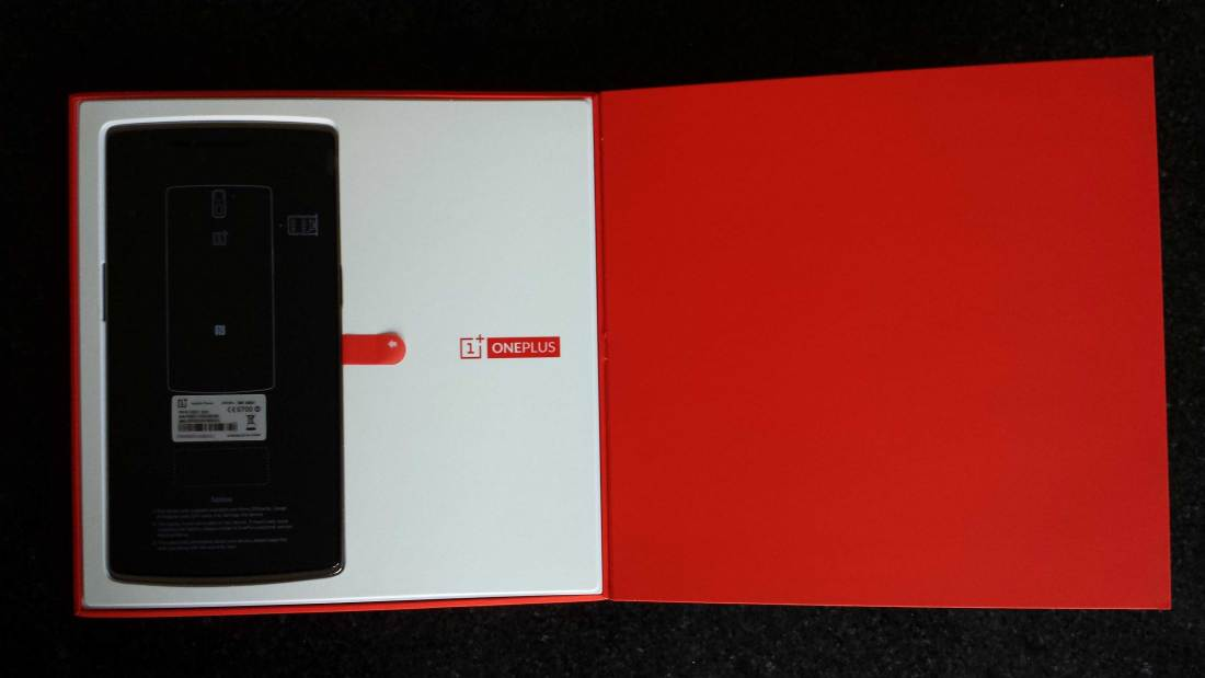 OnePlus One in the box