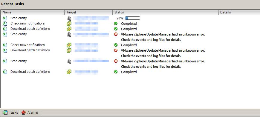VUM - Scan Working