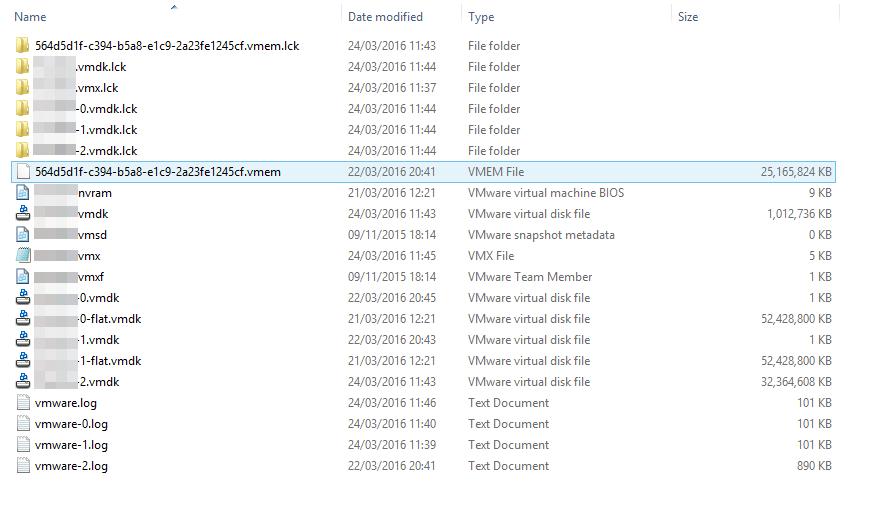 Folder Listing