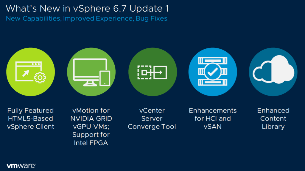 vSphere 6.7 Update 1