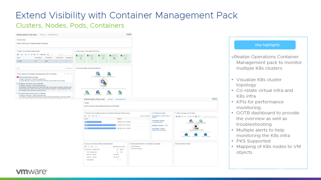Container Management Pack