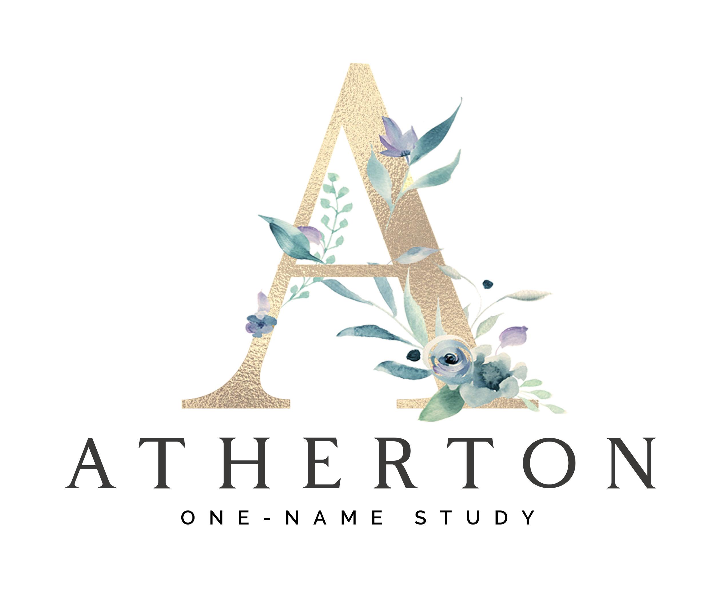 Atherton One-Name Study