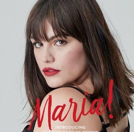 meet torrid model search winner Maria Gimena