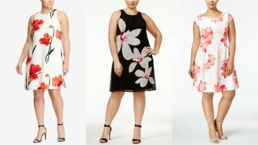 10 Super Cute Plus Size Floral Dresses