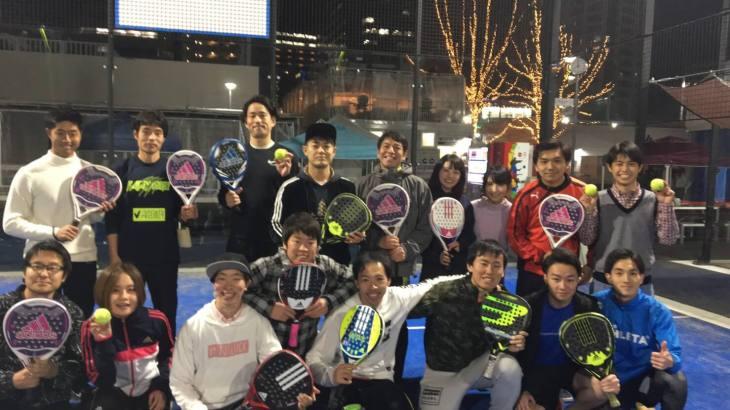 Find-FCとパデル日本代表・日下部のコラボでパデル体験会を開催!