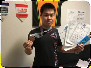 スポーツインストラクター YHさん 競泳大会で優勝!