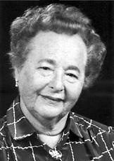 Women fear aging: Gertrude Elion