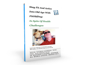 For healthy aging recovery, FitOldDogs ebook, Fit and Active into Old Age.