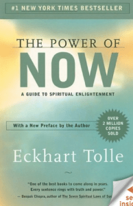The Power of Now by Eckhart Tolle is used by FitOldDog to calm his mind on a regular basis. From: http://goo.gl/OGI5I