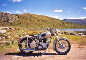 BSA 650 Gold Flash, motor cycle, FitOldDog's advice,