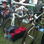 triathlon, bike, gear, transition area, FitOldDog's equipment,