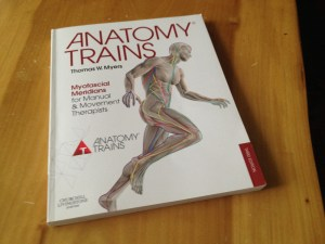 Third edition of anatomy trains by Tom Myers.