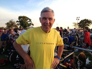 stent or no stent: Bob Scott, triathlete.
