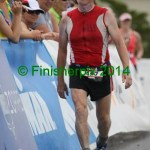 FitOldDog is pissed finishing the Eagleman 2014 Half Ironman because he was forced to walk in the run.