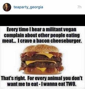 Anti-Vegan Burger 300