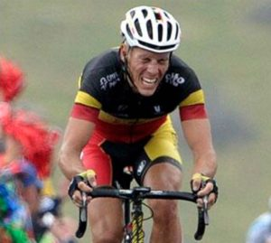 the 40% rule: cycling pain face