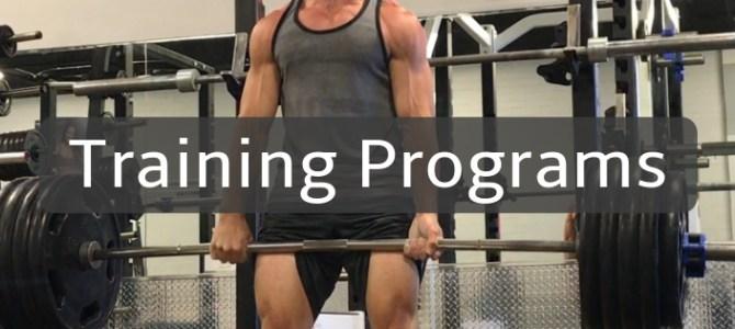 3 week strength training program