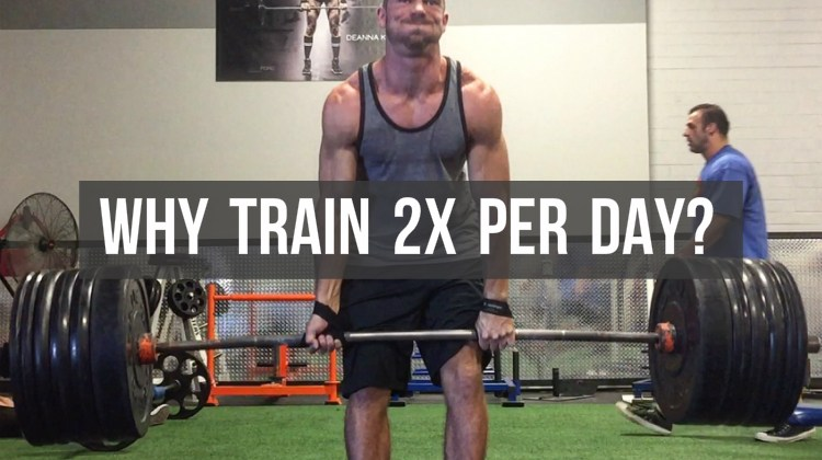 Why Train Twice Per Day?