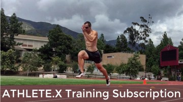 Sprint Training Program – Sprinting Workouts – ATHLETE.X