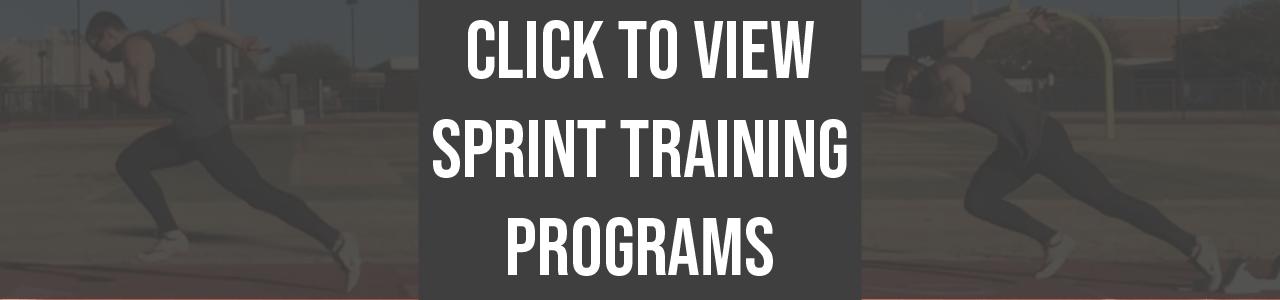 athlete.x sprint training programs