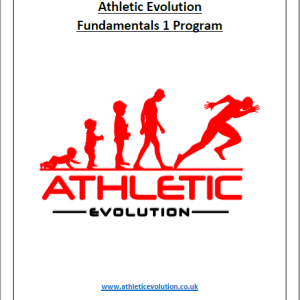 Athletic Evolution Fundamentals 1 Program