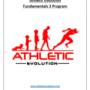 Athletic Evolution Fundamentals 3 Youth Strength and Conditioning Program