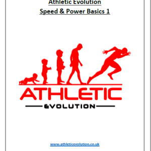 Speed and Power Training for youth athletes