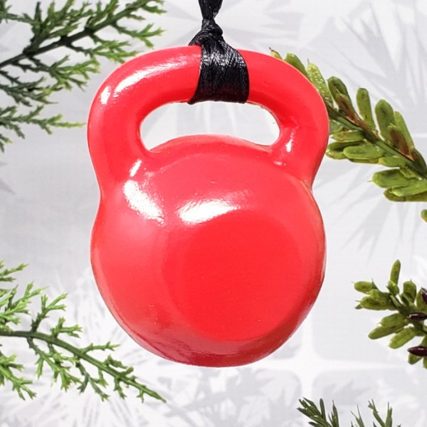 Kettlebell Crossfit Christmas Ornament Strength Sports Decor Decoration Gift Athlete