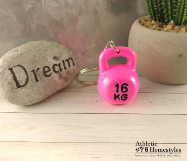 kettlebell keychain crossfit 16kg 1 pood gift unique