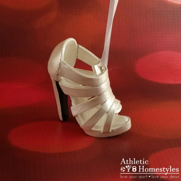 High Heel Shoe Footwear Christmas Ornament