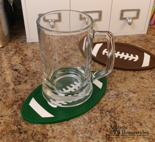 Football Silicone Trivet Hot Pad Spoon Rest