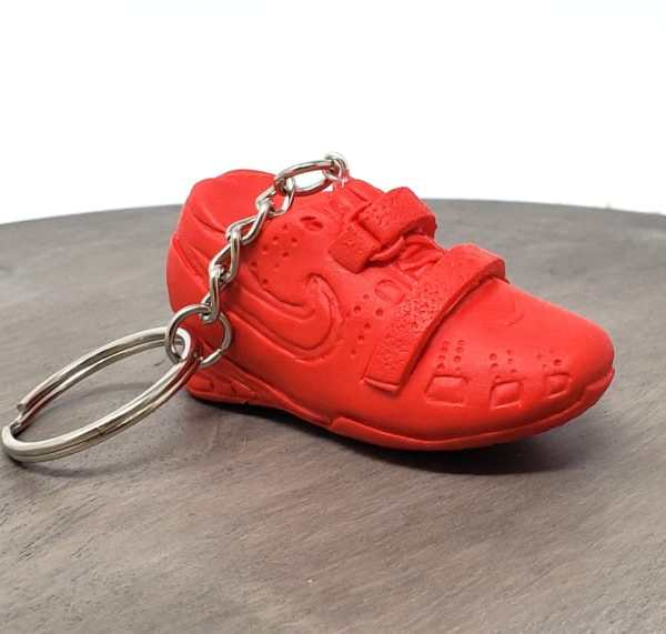 Weightlifting Powerlifting Squat Shoe Nike Romaleo Keychain Gym Bag Accessory Fitness Charm