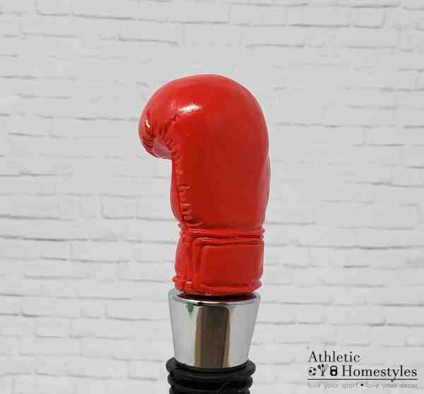 Boxing Glove Wine Bottle Stopper Kitchen Party Decor UFC MMA Mixed Martial Arts Drinking Athletic decor