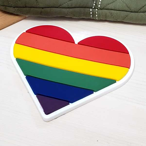 Pride Flag LGBTQ Gay Lesbian Transgender Kitchen Decor Home Meal Prep
