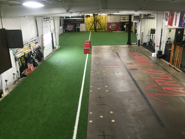 Speed track, agility for & field in the back