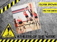 Olivia Brown, Milton-Union