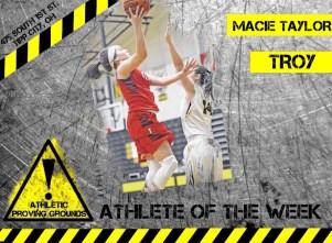 Macie Taylor, Troy High School